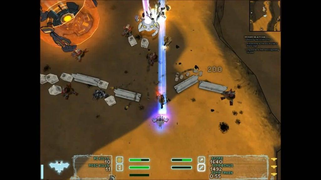 Steel Storm Bonus Missions Skirmish Burning Sands 1