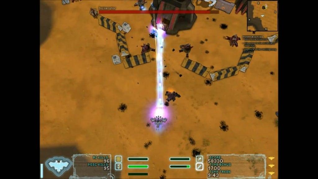 Steel Storm Bonus Missions Skirmish Burning Sands 2