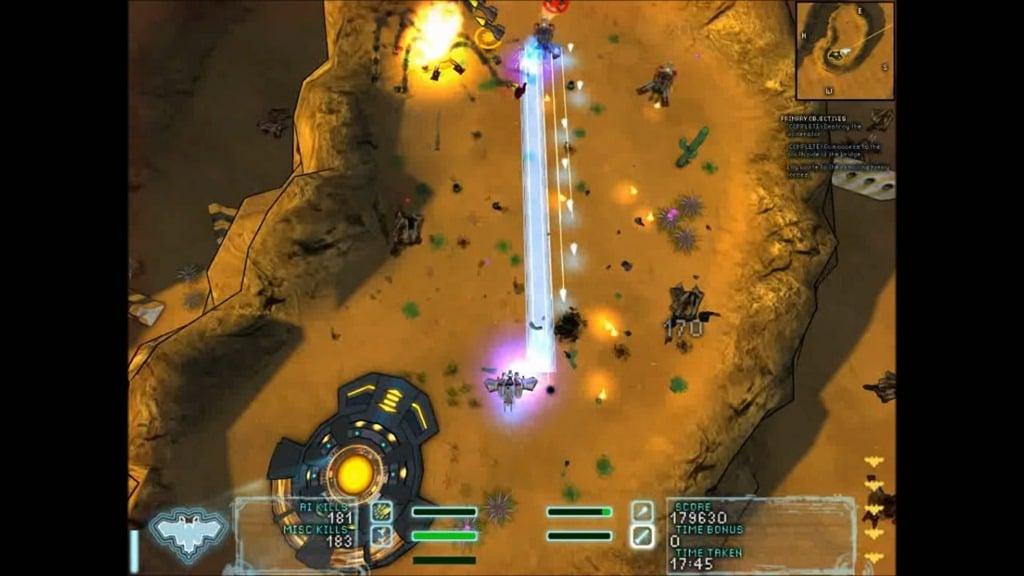 Steel Storm Bonus Missions Skirmish Burning Sands 4