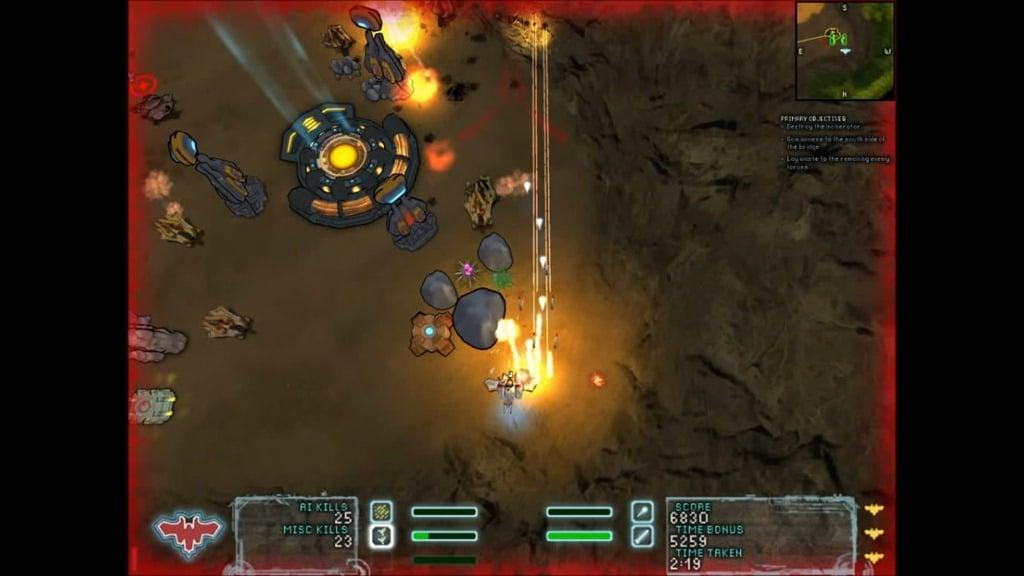 Steel Storm Bonus Missions Skirmish Burning Sands 5