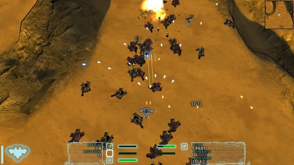 Screenshot of the Storm Spread in Steel Storm.