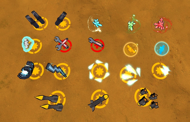 steel storm all items