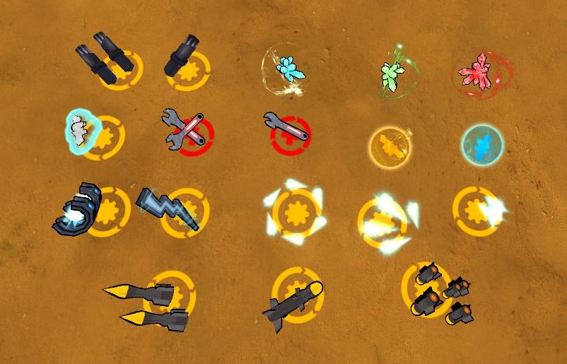 Stahlsturm alle Gegenstände